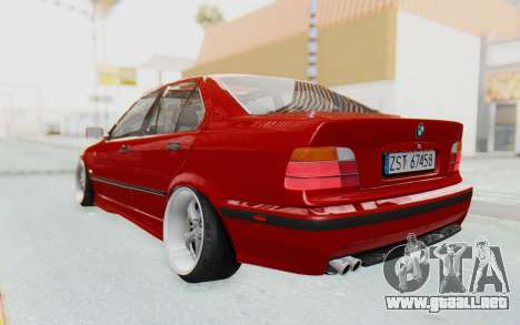 BMW M3 E36 2.5 TDS para GTA San Andreas left