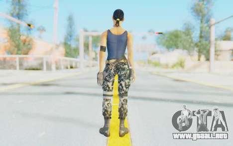 Mortal Kombat X - Jacqui Briggs para GTA San Andreas tercera pantalla