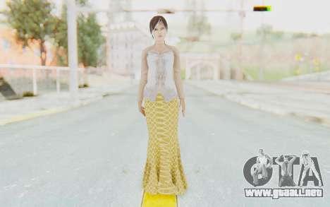 Linda Meilinda Kebaya para GTA San Andreas segunda pantalla