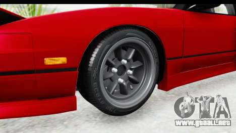 Nissan 240SX 1989 v1 para GTA San Andreas vista hacia atrás
