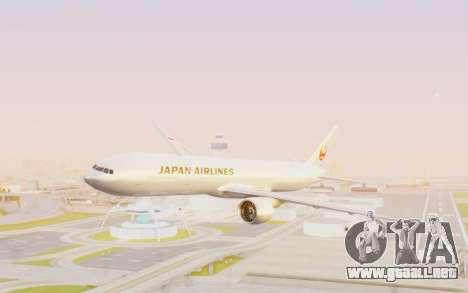 Boeing 777-300ER Japan Airlines v2 para GTA San Andreas