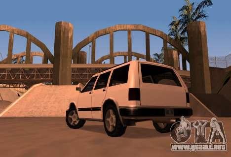 Landstalker SRT8 para GTA San Andreas left