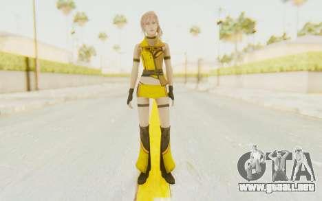 Final Fantasy XIII - Lightning Electronica para GTA San Andreas segunda pantalla
