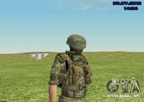 Cuerpo De Infantería De Marina De Combate para GTA San Andreas quinta pantalla