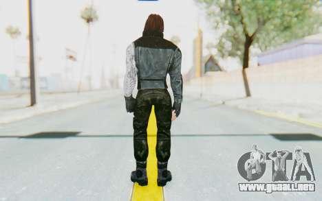Bucky Barnes (Winter Soldier) v1 para GTA San Andreas tercera pantalla