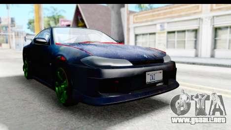 Nissan Silvia S15 Galaxy Drift v2.1 para la visión correcta GTA San Andreas