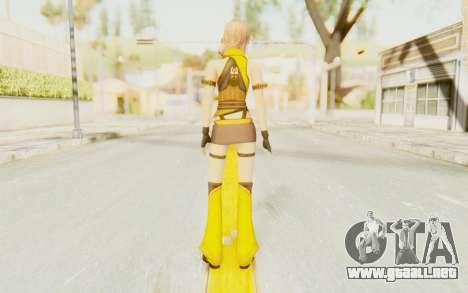 Final Fantasy XIII - Lightning Electronica para GTA San Andreas tercera pantalla