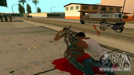Prince Of Persia Water Sword para GTA San Andreas sexta pantalla