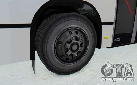 Pylife Bus para GTA San Andreas vista hacia atrás