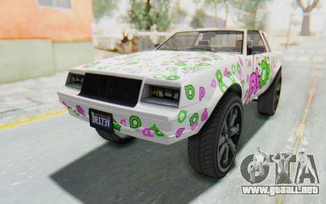 GTA 5 Willard Faction Custom Donk v1 para el motor de GTA San Andreas