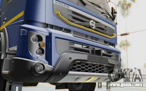 Volvo FMX 6x4 Dumper v1.0 Color para vista lateral GTA San Andreas