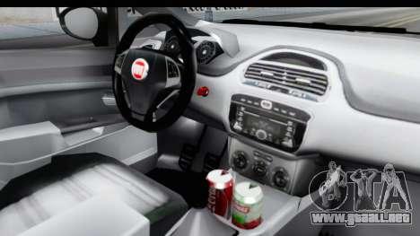 Fiat Linea 2014 para visión interna GTA San Andreas