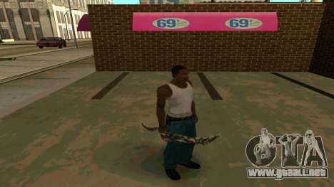 Prince Of Persia Water Sword para GTA San Andreas séptima pantalla