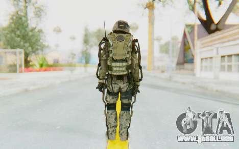 CoD AW US Marine Assault v1 Head A para GTA San Andreas tercera pantalla