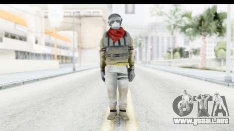 The Division Last Man Battalion - Support para GTA San Andreas segunda pantalla