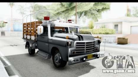 GMC 3100 Diesel para la visión correcta GTA San Andreas