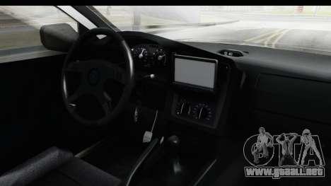 Opel Astra G Variant Polizei Bayern para visión interna GTA San Andreas