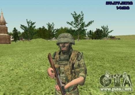 Cuerpo De Infantería De Marina De Combate para GTA San Andreas tercera pantalla