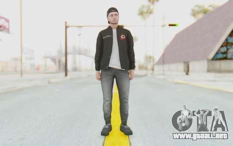 GTA Online Finance and Felony Skin 1 para GTA San Andreas segunda pantalla