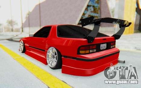 Mazda RX-7 FC3S BN Sport para GTA San Andreas left
