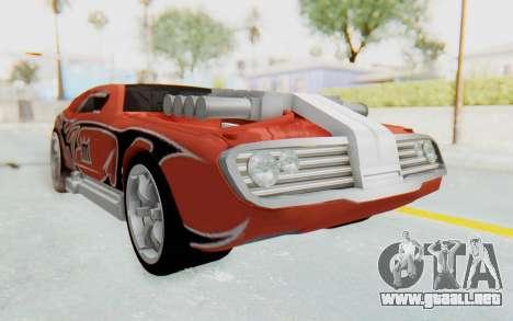 Hot Wheels AcceleRacers 2 para la visión correcta GTA San Andreas