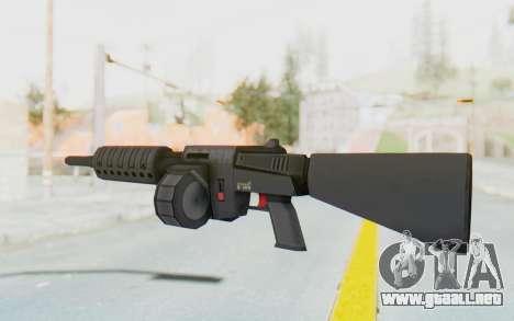 APB Reloaded - NFAS-12 para GTA San Andreas segunda pantalla