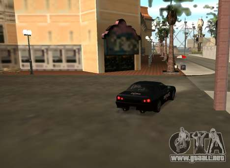 New vinyls for Elegy para vista inferior GTA San Andreas