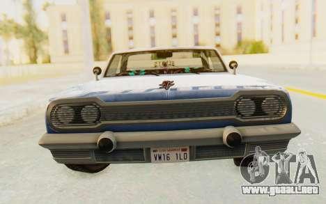 GTA 5 Declasse Voodoo Alternative v1 para GTA San Andreas