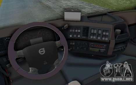 Volvo FMX 6x4 Dumper v1.0 para la vista superior GTA San Andreas