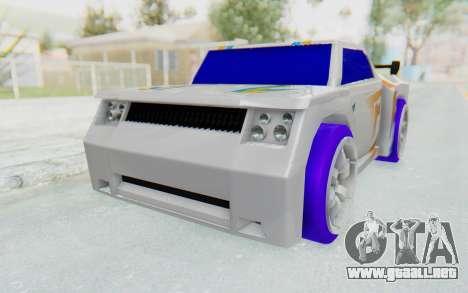 Hot Wheels AcceleRacers 3 para la visión correcta GTA San Andreas