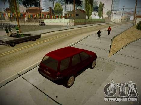 Ford Escape 2005 para la visión correcta GTA San Andreas