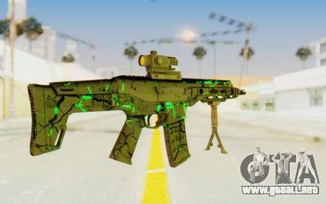 ACR CQB Magma Green para GTA San Andreas tercera pantalla