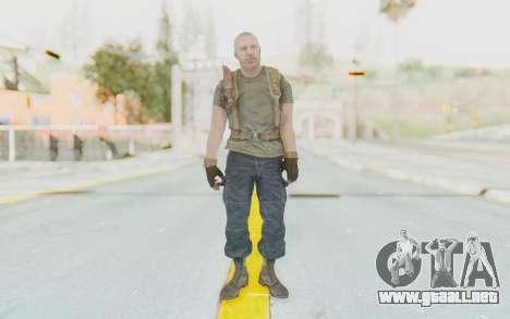 COD BO Hudson Ubase para GTA San Andreas segunda pantalla