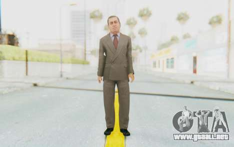 Mafia 2 - Clemente para GTA San Andreas segunda pantalla
