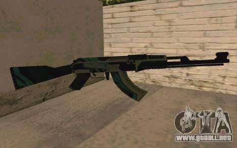 AK-47 Vulcan (SA) para GTA San Andreas
