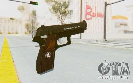GTA 5 Hawk & Little Pistol para GTA San Andreas tercera pantalla