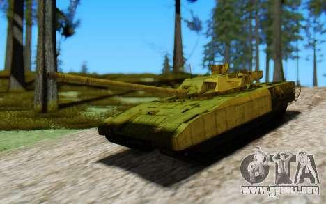 T-14 Armata Green para la visión correcta GTA San Andreas