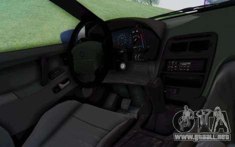 Nissan 300ZX Monster Truck para visión interna GTA San Andreas