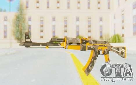 CS:GO - AK-47 Vanquish para GTA San Andreas segunda pantalla