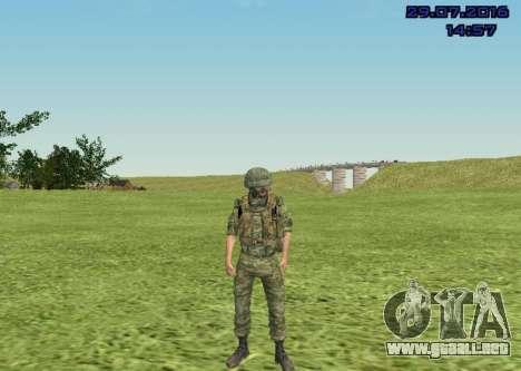 Cuerpo De Infantería De Marina De Combate para GTA San Andreas sexta pantalla