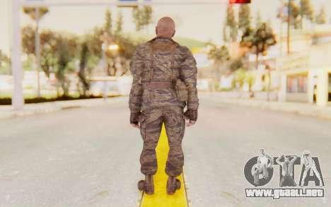 COD BO Hudson Vietnam para GTA San Andreas tercera pantalla