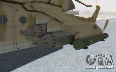 MGSV Phantom Pain HP-48 Krokodil para GTA San Andreas vista hacia atrás