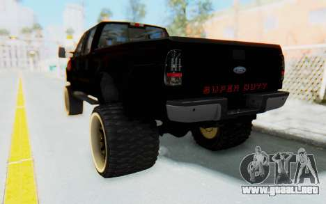 Ford Super Duty Off-Road para GTA San Andreas left