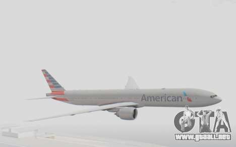 Boeing 777-300ER American Airlines N727AN para GTA San Andreas