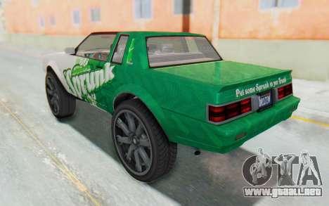 GTA 5 Willard Faction Custom Donk v1 IVF para GTA San Andreas
