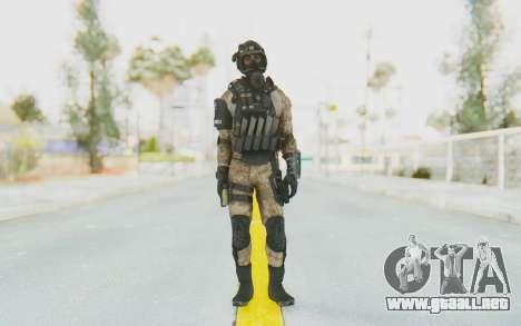 Federation Elite SMG Desert para GTA San Andreas segunda pantalla