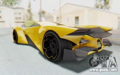 GTA 5 Grotti Prototipo v2 IVF para GTA San Andreas left