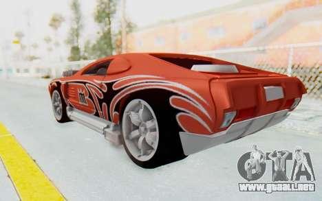 Hot Wheels AcceleRacers 2 para GTA San Andreas left