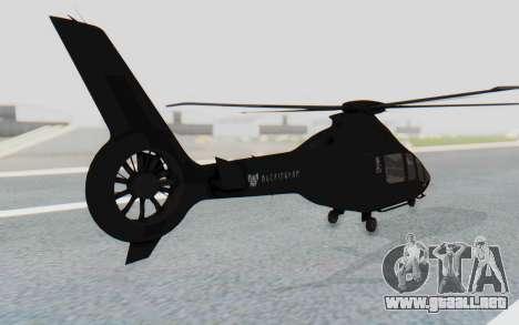 GTA 5 Buckingham Volatus v1 IVF para GTA San Andreas left