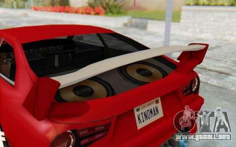 Elegy GT v1 para vista lateral GTA San Andreas